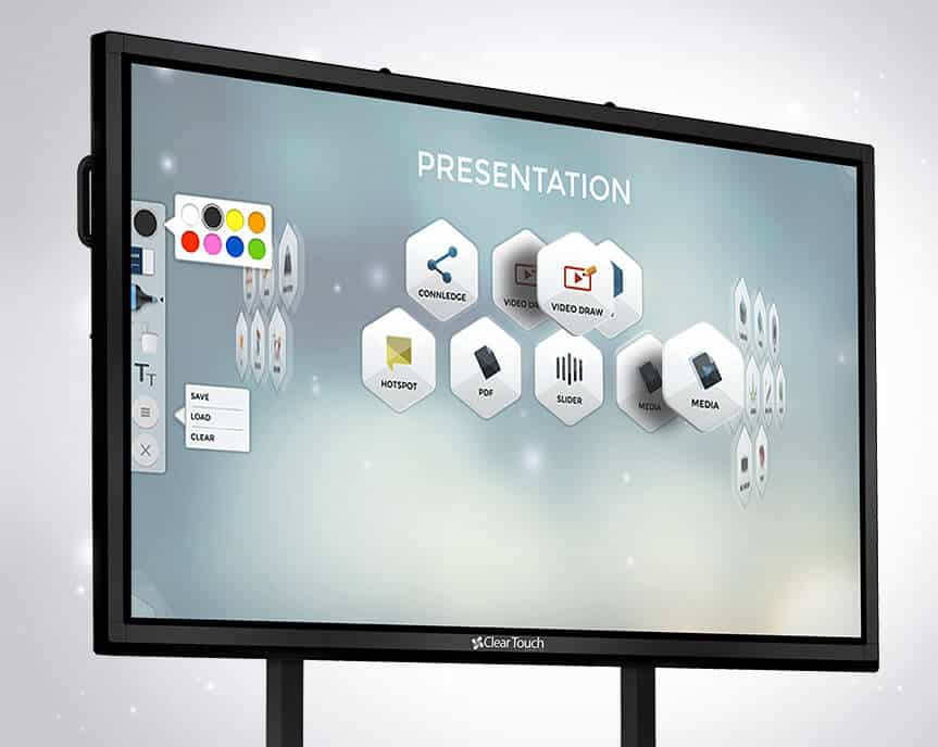 clear touch interactive panel software