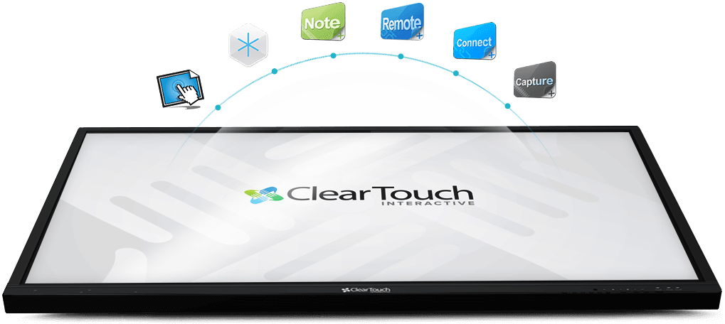 Clear Touch interactive panel software subscriptions